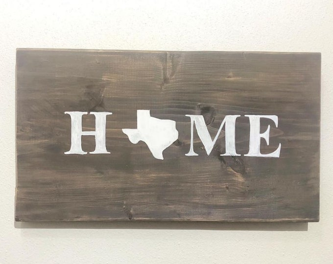 State Home Sign (Custom)