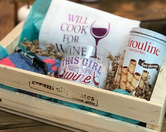 Wine Lover's Gift Crate