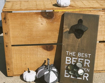Magnetic Beer Opener