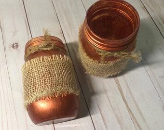 Copper Rustic Vases