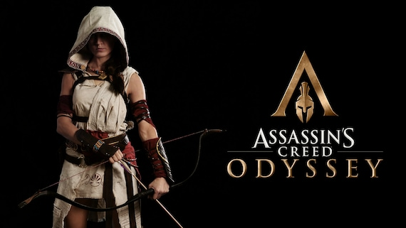 Assassins Creed Odyssey Cosplay Costume Kassandra And Etsy