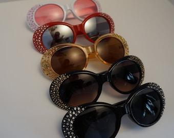 e09d7a3134 Clout Sunglasses W  Diamond Edges UV 400 By BellagiftshopUS