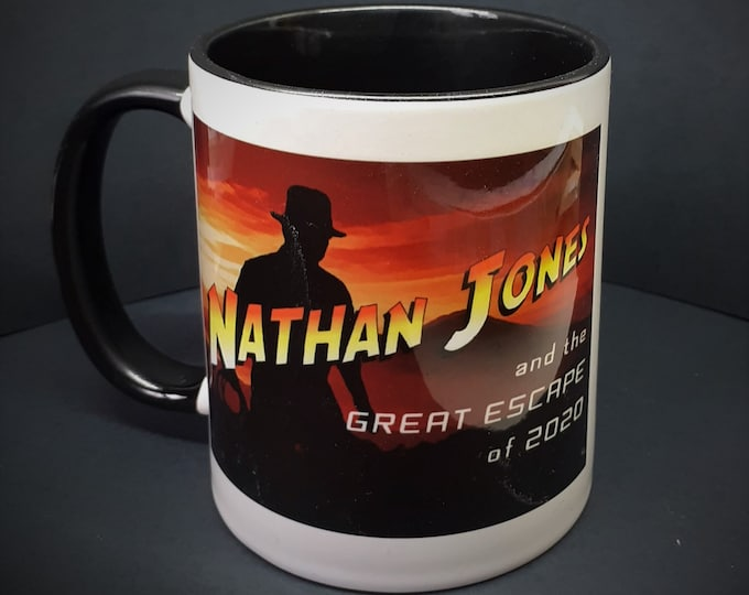 Featured listing image: Mug  - LUTON TOWN FC - Nathan (Indiana) Jones mug