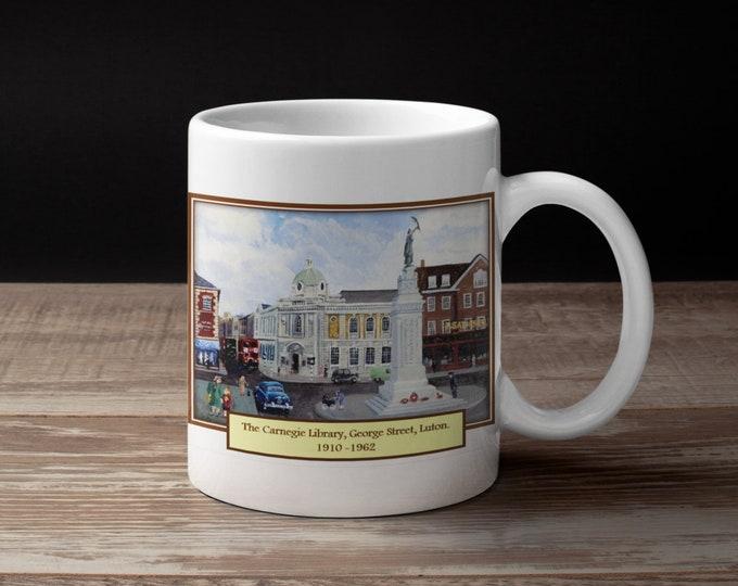 Mug (10oz) - Luton Heritage Series #3 - The Carnegie Library