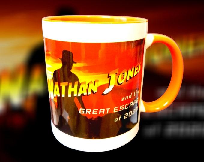 Mug  - LUTON TOWN FC - Nathan (Indiana) Jones mug