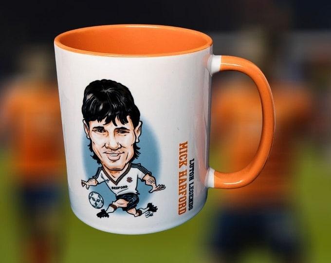 Luton Legends Mug: Mick Harford