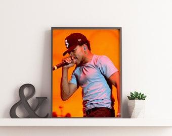 Chance The Rapper Dope Poster Print 3 Hip Hop Coloring Book Acid Rap