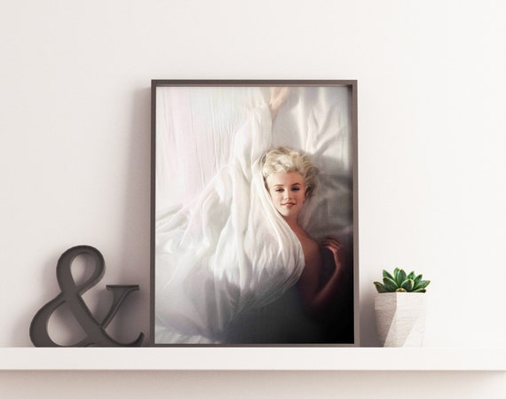 Marilyn Monroe Poster Marilyn Monroe Print Marilyn Monroe   Etsy