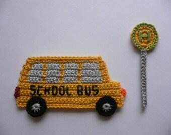 Bus Gehaekelt Etsy