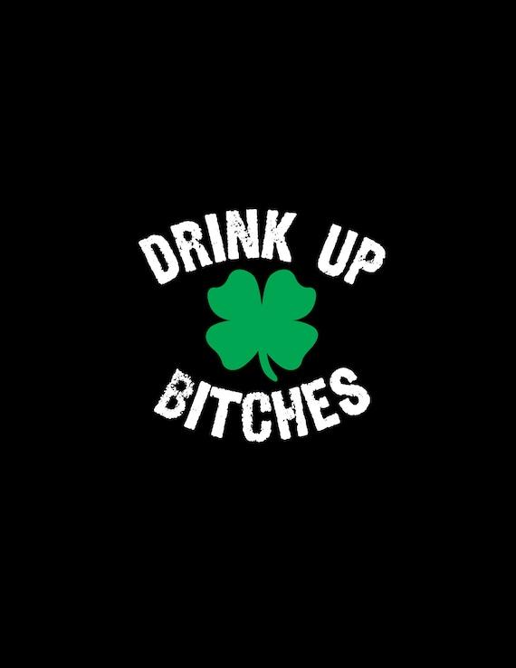 Drink Up St Patrick S Day Svgdxfepspdfsijpeg Filesst Etsy