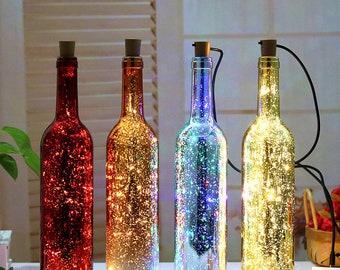 more colours decorative bottle