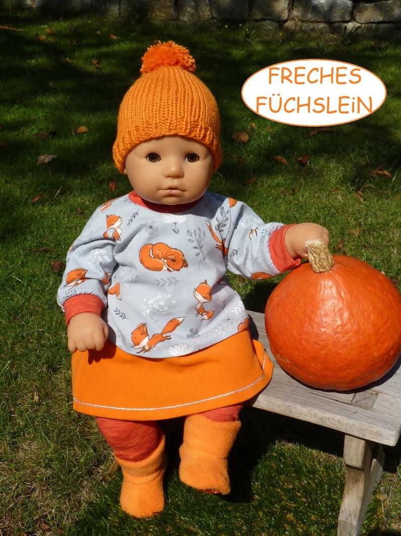 Götz Cookie Puppenkleidung 48cm handgefertigt neu z.B für Baby Annabell