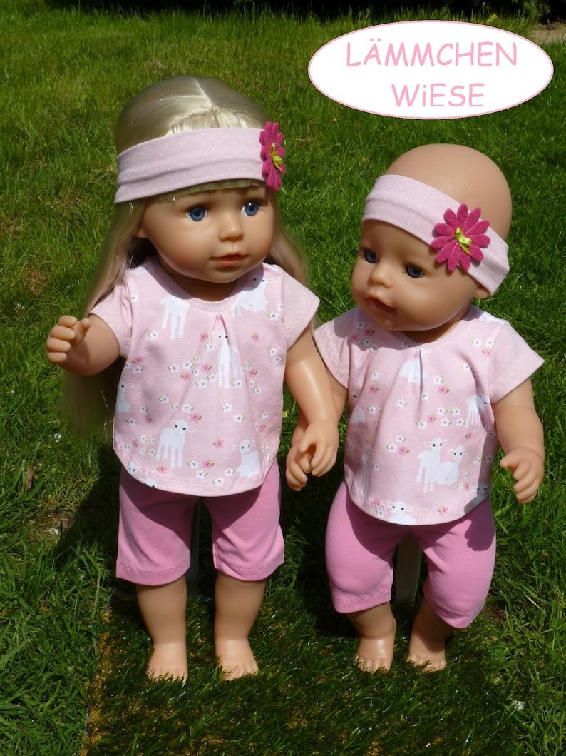 Puppenkleidung & Zubehör Pyjama / Schlafanzug Babyborn Passend Z.b 43cm
