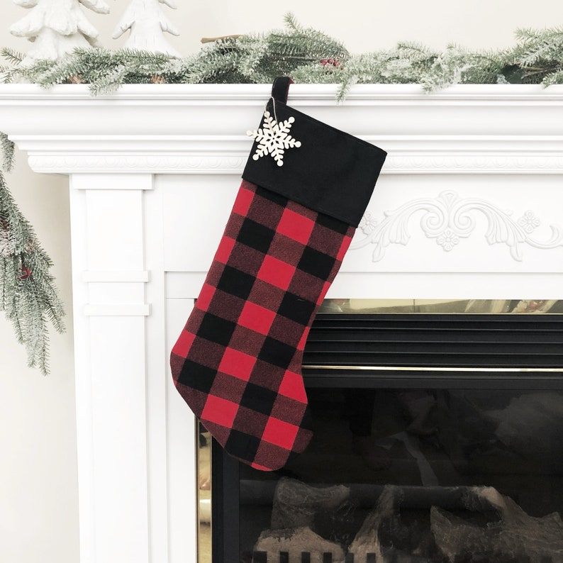 8a5961716d1 Farmhouse Christmas Stockings Personalized Christmas