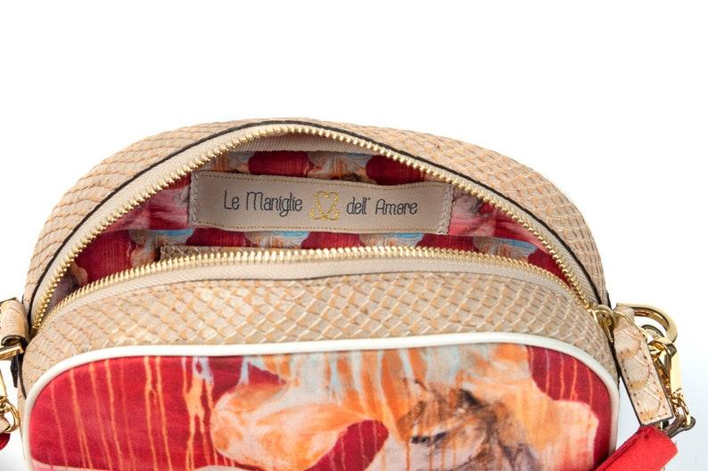 Vegan Cork Belt Bag  Mini Purse  Multifunctional Bag   Art Bag  Eco Fanny Pack  Sustainable bag  CASTELLINA