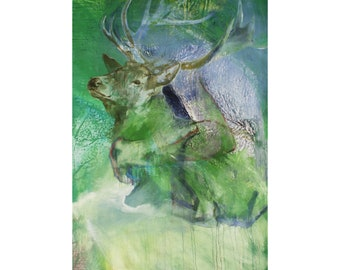 Fine Art Animal Print, Deer Giclée Print