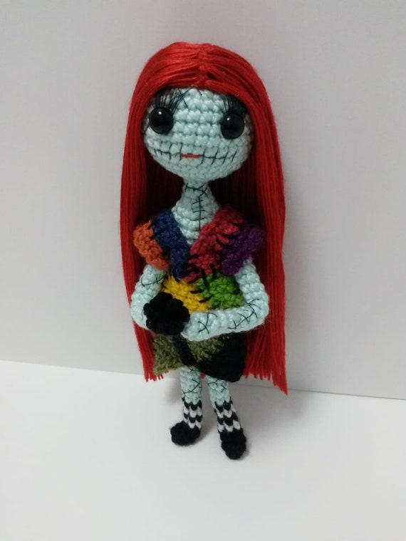 Sally Doll for Halloween Crochet pattern by Nada Fatouh | 760x570