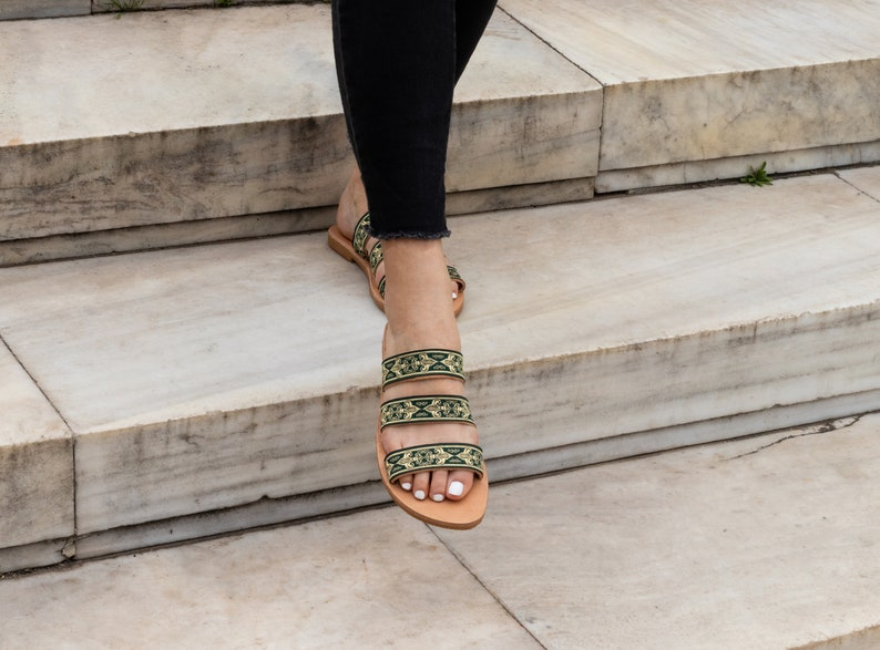 Womens Leather Sandals-Greek Sandals Leather-Gladiator Sandals-Boho Berry-Summer Shoes-Flat Sandals-Boho Sandals-Decorated Sandals