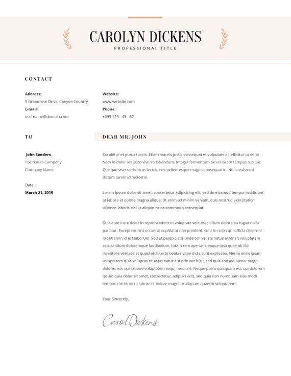Minimalist Resume Template For Word Resume Engineer Architecture Resume Design Legal Attorney Lawyer Resume Lebenslauf