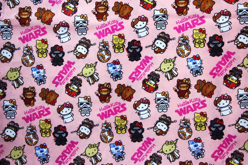 FAT QUARTER Perfect for DIY Face Mask Star Wars 100/% COTTON FABRIC