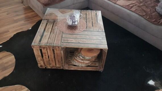 couchtisch obstkiste free kleine geflammt neu couchtisch flambiert obstkiste hhe cm durchmesser. Black Bedroom Furniture Sets. Home Design Ideas