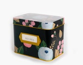Recipe Box With 24 Cards 12 Dividers by Polite Society