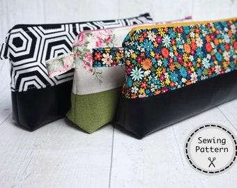 Pencil Case Teacher Gift School supply Makeup pouch DIY   Etsy