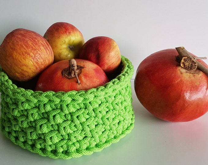 Small storage basket / Crochet Basket /Home decor
