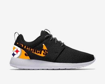 buy online 21b72 e0c8a Pittsburgh Steelers Custom Nike Roshe One