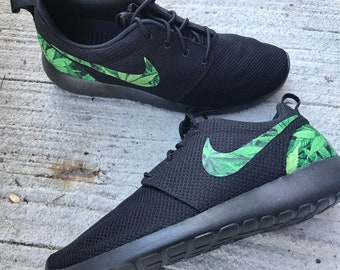 8de23c61644a Cannabis Custom Nike Roshe One