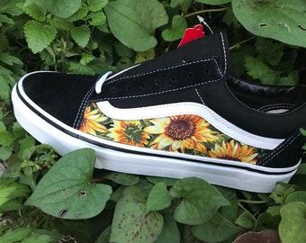 1c223072da3 Sunflower Custom Vans Old Skool