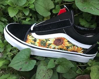 902ace07bc3 Sunflower Custom Vans Old Skool