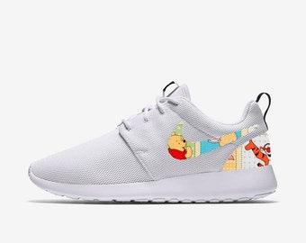 Winnie the Pooh   Friends Patchwork Custom Nike Roshe One f8d0b0d70