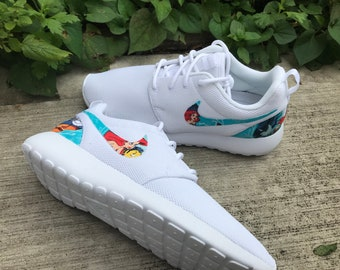 bfdd6eba634c The Little Mermaid Custom Nike Roshe One