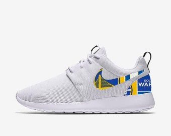 768b22529a9e5e Golden State Warriors Custom Nike Roshe One
