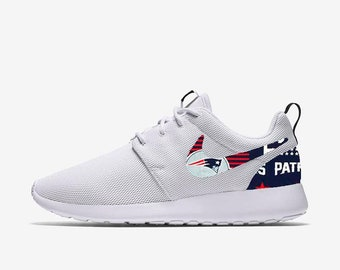 New England Patriots Custom Nike Roshe One be5004de1