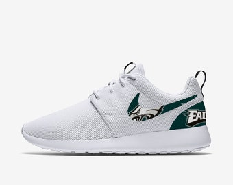 Custom Eagles Shoes Etsy