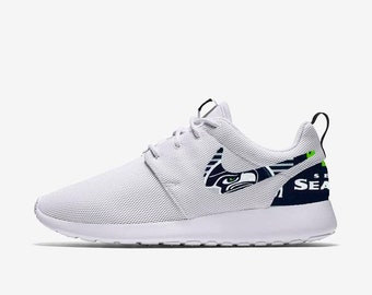 e708d7542c93 Seattle Seahawks Custom Nike Roshe One