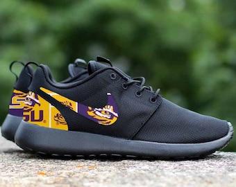 4d8c23503046a LSU Tigers Custom Nike Roshe One