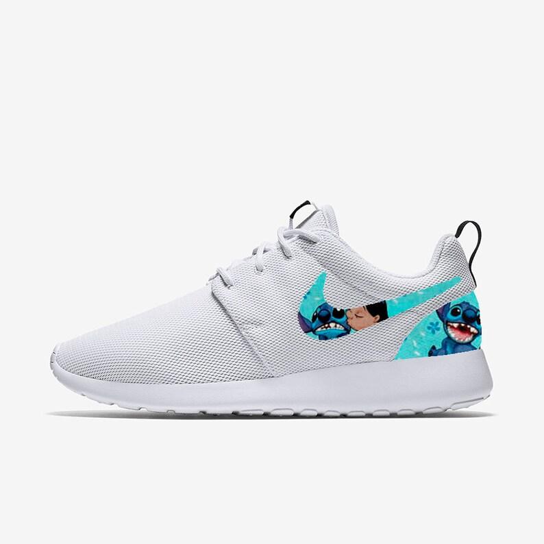 ac78a7d95475 Lilo   Stitch Ohana Custom Nike Roshe One