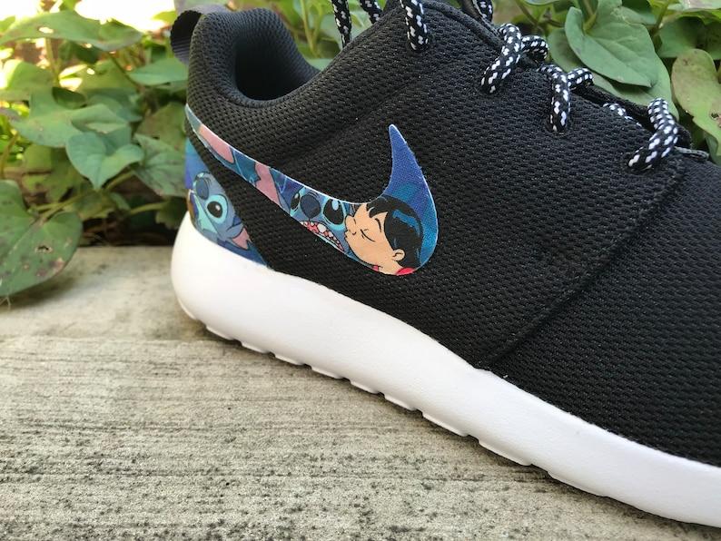 cc1c2b3f506c Lilo   Stitch Friends Forever Custom Nike Roshe One