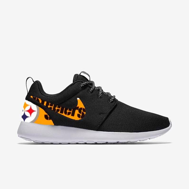 f379a6e1b170 Pittsburgh Steelers Custom Nike Roshe One