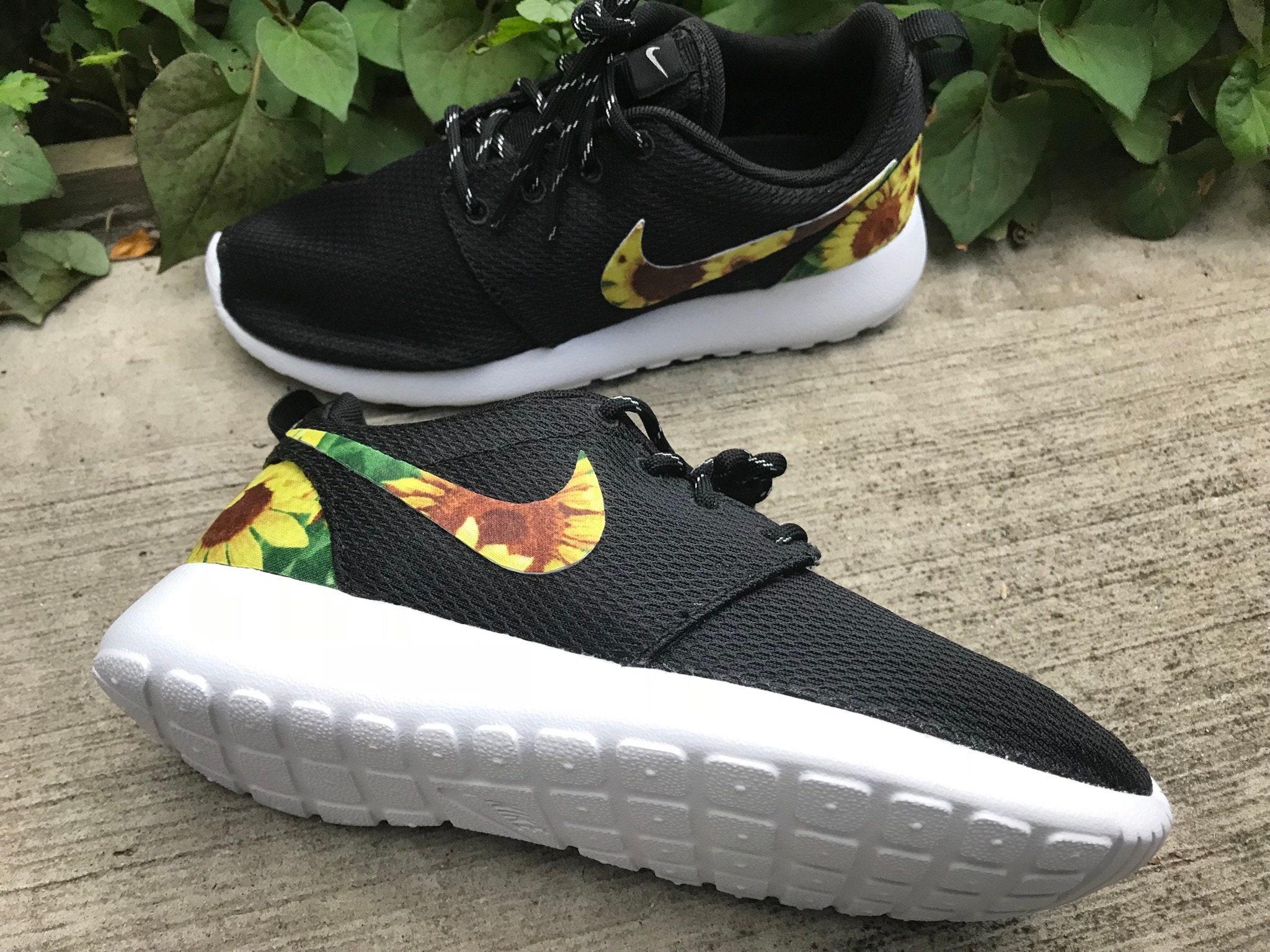Sunflower Custom Nike Roshe One | Etsy
