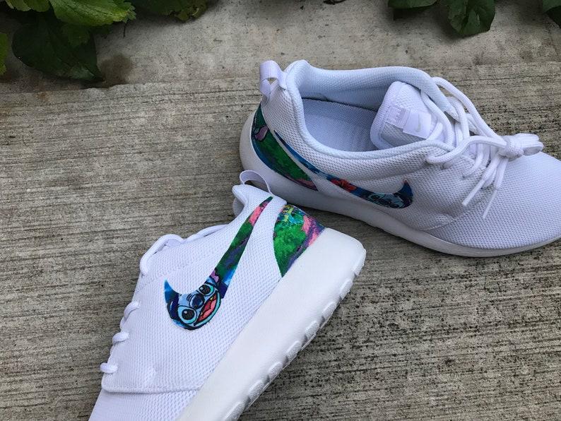 9033278fb1f8 Lilo   Stitch Custom Nike Roshe One