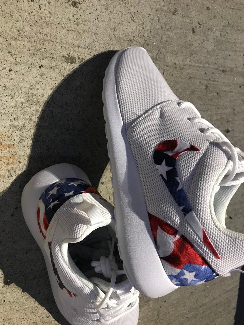 Drapeau américain personnalisé Nike Roshe One
