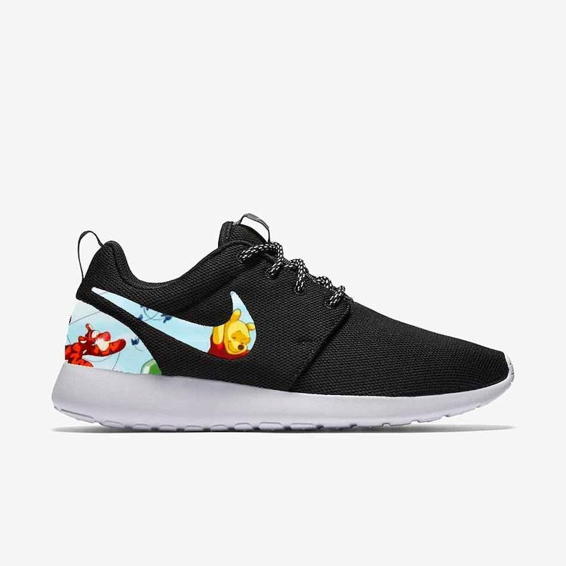 ee5fe3ff9837 Winnie the Pooh   Friends Custom Nike Roshe One