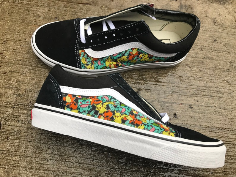 c028e812a63a78 Pokemon Custom Vans Old Skool