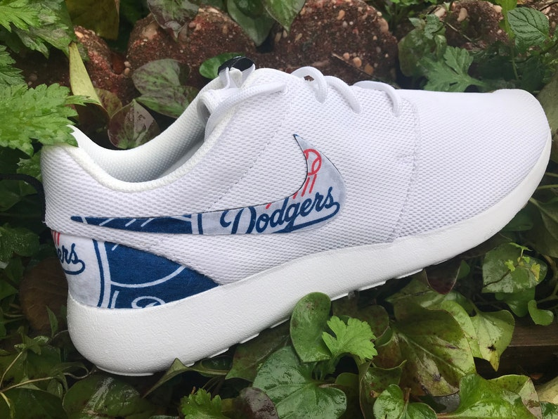 1cc9d321630d5 Los Angeles Dodgers Custom Nike Roshe One