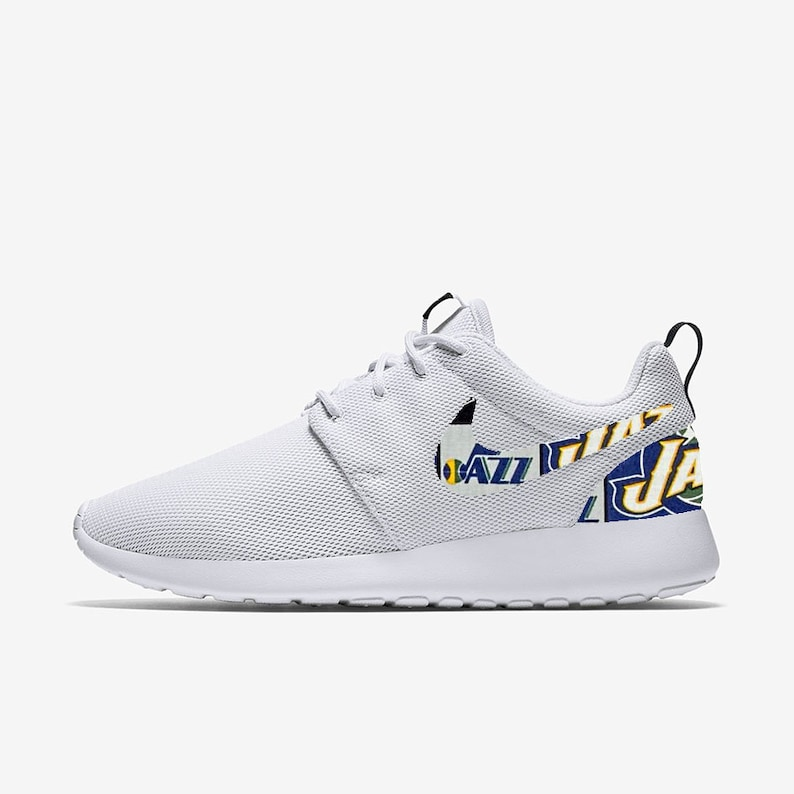 335315cd17cbb Utah Jazz Custom Nike Roshe One