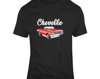 d3cc2d41735d Chevelle Convertible Classic Car Enthusiast T Shirt